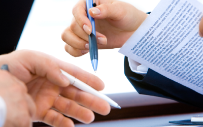 Clauses in an employment agreement